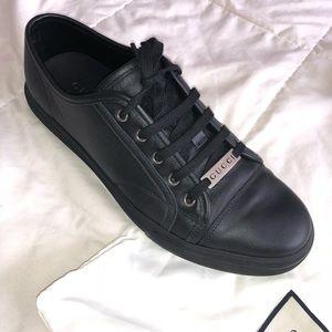 gucci trainers mens black